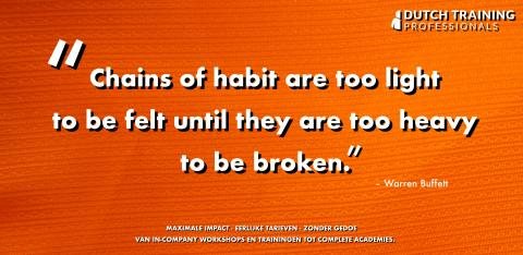 Chains of habits